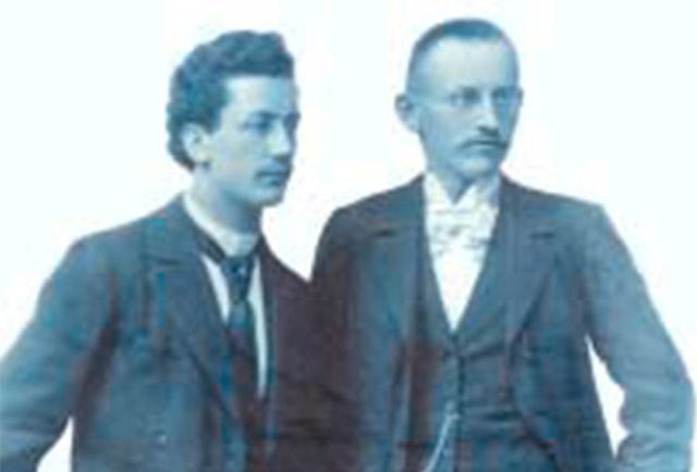 Emil Kutscher und Eugen Gehr Die Gründer von Kutscher + Gehr