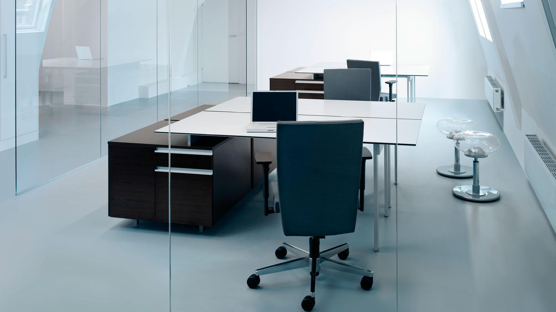 <p>Tisch- und Stauraumprogramm LOFTLINE</p>